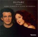 DUPARC - Gubisch - Mélodies