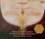 MOZART - Mackerras - Così fan tutte (Ainsi font-elles toutes), opéra bou