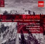 BUSONI - Ogdon - Concerto pour piano et orchestre avec chœur d'hommes op