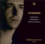 SCHUMANN - Chiovetta - Waldszenen (Scènes de la forêt), pour piano op.82