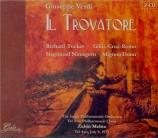 VERDI - Mehta - Il trovatore, opéra en quatre actes (version originale 1 Live 9 - 07 - 1973 Tel Aviv