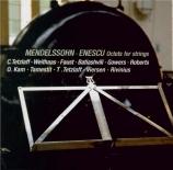 MENDELSSOHN-BARTHOLDY - Tetzlaff - Octuor pour cordes en mi bémol majeur