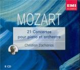 MOZART - Zacharias - Concerto pour piano et orchestre n°21 en do majeur