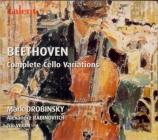 BEETHOVEN - Drobinsky - Variations (12) pour violoncelle et piano