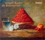 BOISMORTIER - Kuijken - Six concerti à cinq flûtes traversières op.15
