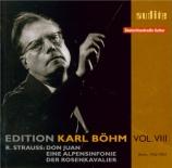 STRAUSS - Böhm - Eine Alpensinfonie, pour grand orchestre op.64