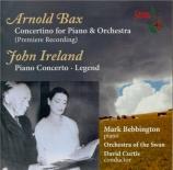 BAX - Bebbington - Concertino pour piano et orchestre GP.346 (inachevé :