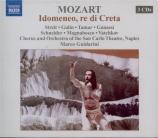 MOZART - Guidarini - Idomeneo, rè di Creta (Idoménée, roi de Crète), opé