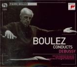 DEBUSSY - Boulez - La mer, trois esquisses symphoniques pour orchestre L
