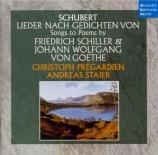 Lieder nach Gedichten von Schiller & Goethe import Japon