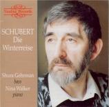 SCHUBERT - Gehrman - Winterreise (Le voyage d'hiver) (Müller), cycle de