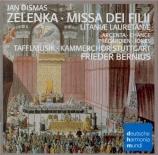 ZELENKA - Bernius - Missa dei filii ZWV.20