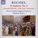 ROUSSEL - Denève - Symphonie n°4 op.53