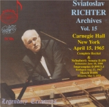Carnegie Hall New York April 15, 1965 Complete Recital