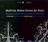MENDELSSOHN-BARTHOLDY - Maîtrise de Not - Trois motets, pour chœur de fe