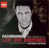 RACHMANINOV - Andsnes - Concerto pour piano n°3 en ré mineur op.30