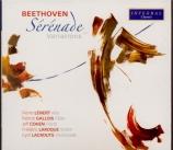 BEETHOVEN - Lenert - Sérénade pour flûte, violon et alto op.25