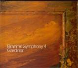 BRAHMS - Gardiner - Symphonie n°4 pour orchestre en mi mineur op.98