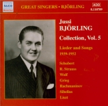 Björling Collection vol.5 Lieder and Songs 1939-52