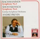 RACHMANINOV - Previn - Symphonie n°3 op.44