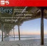 """BERG - Kremer - Concerto pour violon 'Dem Andenken eines Engels"""" (A la m"""