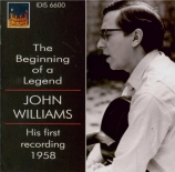 The Beginning of a Legend - His first recording, 1958