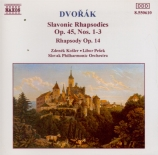 DVORAK - Kosler - Rhapsodie, poème symphonique pour orchestre en la mine