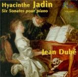 JADIN - Dubé - Sonate pour piano op.3 n°2