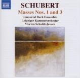 SCHUBERT - Schuldt-Jensen - Messe n°1 en fa majeur, pour solistes, choeur