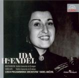 BEETHOVEN - Haendel - Concerto pour violon en ré majeur op.61