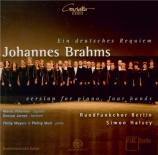 BRAHMS - Halsey - Ein deutsches Requiem (Un Requiem allemand), pour soli version de Londres
