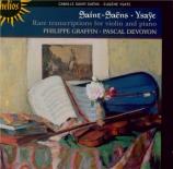 Rare Transcriptions for Violin and Piano