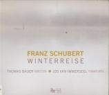 SCHUBERT - Bauer - Winterreise (Le voyage d'hiver) (Müller), cycle de mé