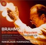 BRAHMS - Harnoncourt - Ein deutsches Requiem (Un Requiem allemand), pour