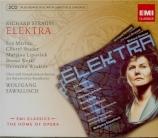 STRAUSS - Sawallisch - Elektra, opéra op.58