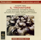 VERDI - Cleva - Il trovatore, opéra en quatre actes (version originale 1 Live MET 27 - 2 - 1960