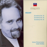 MOZART - Kertesz - Symphonie n°33 en si bémol majeur K.319