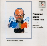 Piazzini plays Piazzolla (And other composers from Argentina )
