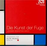 BACH - Akademie für al - L'art de la fugue(Die Kunst der Fuge) BWV.1080