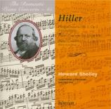 HILLER - Shelley - Concerto pour piano n°1 en fa mineur op.5