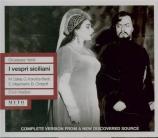 VERDI - Kleiber - I vespri siciliani, opéra en cinq actes (version 1855 Live 26 - 05 - 1951 Firenze