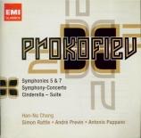 PROKOFIEV - Rattle - Symphonie n°5 en si bémol majeur op.100