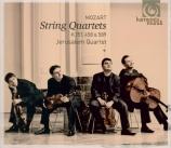 MOZART - Jerusalem Quart - Quatuor à cordes n°4 en do majeur K.157