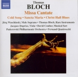BLOCH - Waschinski - Missa cantate