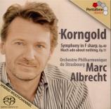 KORNGOLD - Albrecht - Symphonie op.40 en fa dièse majeur
