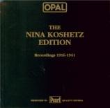 The Nina Koshetz Edition