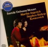 BARTOK - Argerich - Sonate pour deux pianos et percussions Sz.110 BB.115