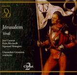 VERDI - Gavazzeni - Jérusalem, opéra en quatre actes (version originale Live RAI torino, 20 - 12 - 1975