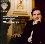 WOLF - Holzmair - Auf einer Wanderung, pour voix et piano