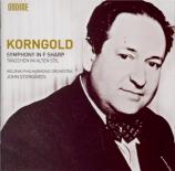 KORNGOLD - Storgards - Symphonie op.40 en fa dièse majeur
